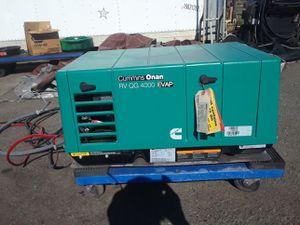 Onan rv QG 4000 evap for Sale in Tacoma, WA