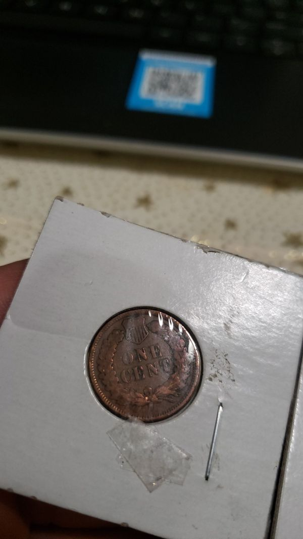 Indian head penny 1906 1907