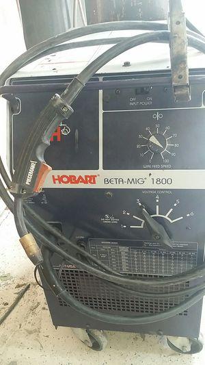 Mig welder-Hobart BETA-MIG 1800 for Sale in Orlando, FL