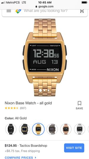 Nixon gold for Sale in Bettendorf, IA