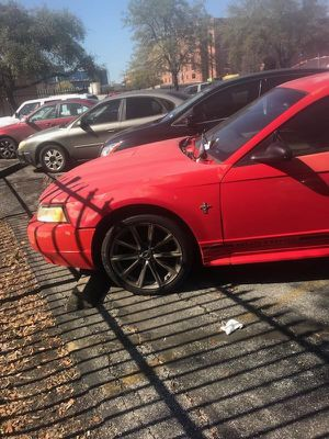 2001 Red Ford Mustang for Sale in Houston, TX