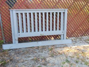 Full size bed frame only. No mattress for Sale in Tampa, FL