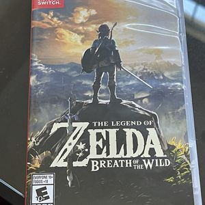 The Legend Of Zelda Breath of the Wild Nintendo Switch game for Sale in Miami, FL