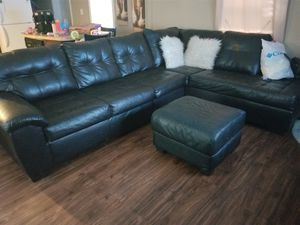 Couch and Ottoman for Sale in Helena, AL
