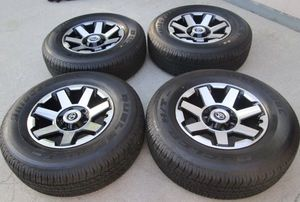 """17"""" Toyota 4Runner factory wheels and tires new for Sale in Irvine, CA"""