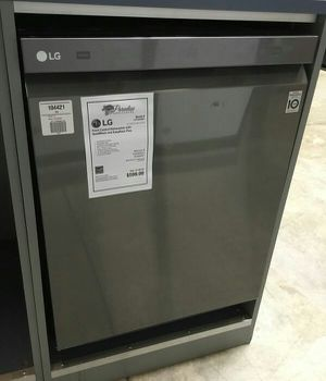 New! LG Black Stainless Dishwasher With Stainless Steel Interior for Sale in Chandler, AZ