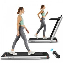 2-in-1 Folding Treadmill with Bluetooth Speaker LED Display for Sale in Alhambra,  CA