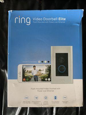 Ring doorbell elite for Sale in Los Angeles, CA