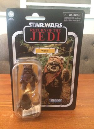 Star Wars The Vintage Collection Return of the Jedi Wicket ewok action figure new for Sale in Puyallup, WA