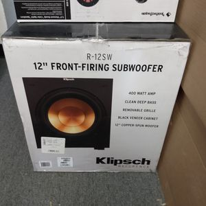 """Klipsch 12"""" Front Firing Subwoofer for Sale in Ramona, CA"""