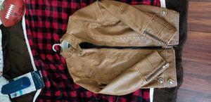 Leather Chopper Jacket for Sale in Shepherdstown, WV