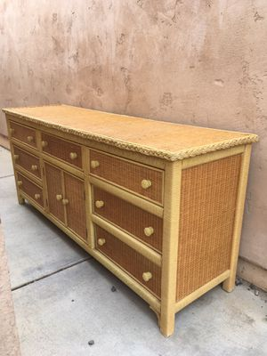 Wicker Dresser for Sale in San Diego, CA
