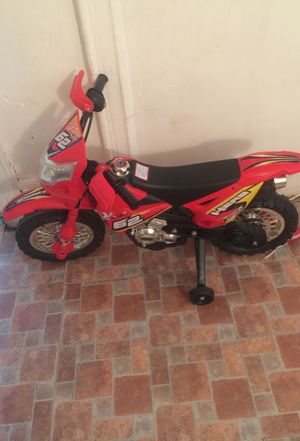 Toddler motor bike wit charger for Sale in The Bronx, NY