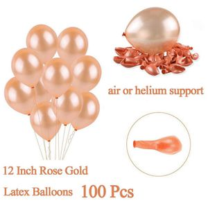 Rose Gold Hellium grade ballons, 100pcs for Sale in San Bruno, CA