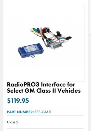 Radio Pro 3 Audio interface for amplifier for Sale in Garland, TX