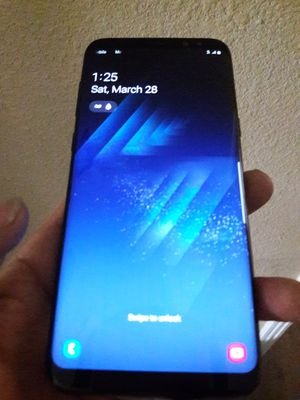 GALAXY s8 plus...AT&T/CRICKET...NO TRADE for Sale in Sacramento, CA