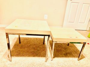 Two side tables . for Sale in McLean, VA