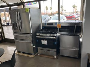 Appliance kitchen package for only $133 monthly payment for 18 months for Sale in North Las Vegas, NV
