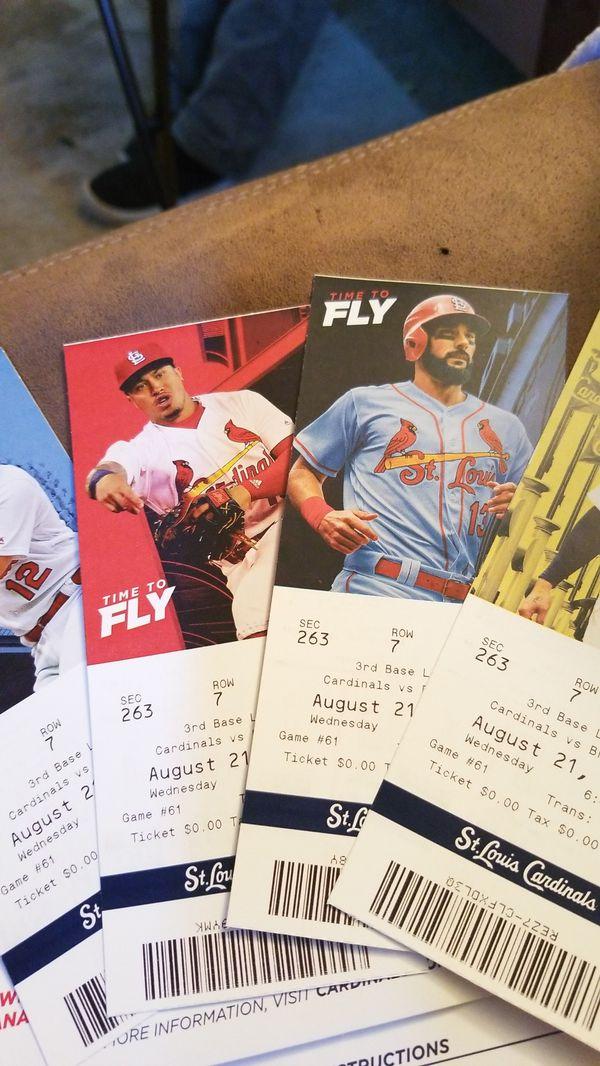 4 cardinal tickets