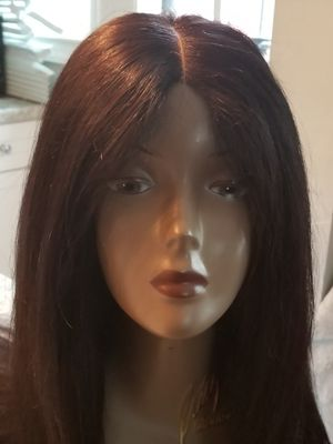 Preorder only. Customized 28 Brazilian human hair straight wig with matching closure for Sale in Washington, DC