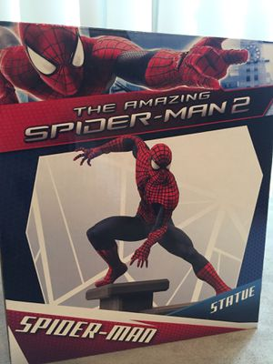 Collectible Amazing Spider-Man statue mint condition for Sale in Sugar Land, TX