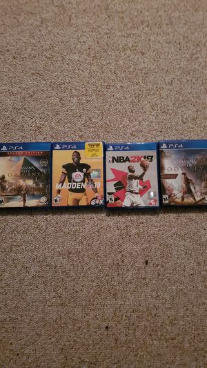 Lot of ps4 games for Sale in Milford, DE