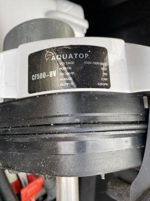 Used AquaTop Aquarium Filter for Sale in Dearborn, MI