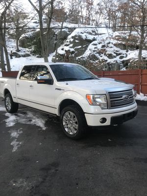 2011 Ford F150 platinum package 4 x 4 mint condition trades welcome for Sale in Medford, MA