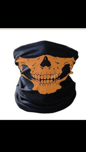 Orange Half Face Mask for Sale in San Bernardino, CA