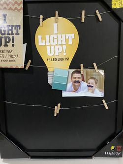 Photo Frame With LED Lights for Sale in Dublin,  OH
