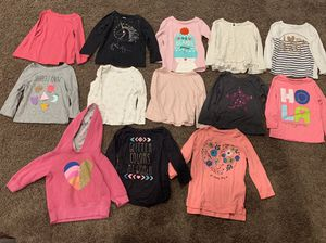 Girl Long Sleeve Shirts Size 2T for Sale in Covina, CA