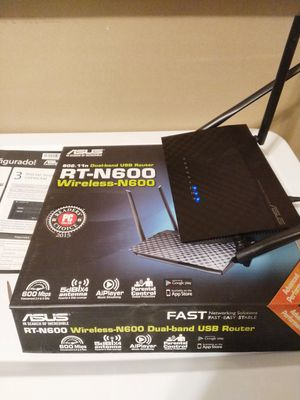 Asus router rt-n600 for Sale in Garden Grove, CA