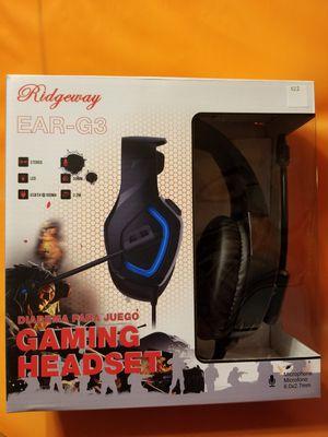 Computer gaming earpiece/ Headphones/earbuds/headset for Sale in Moreno Valley, CA