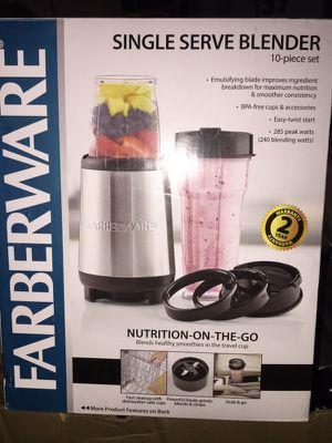 New farberware single serve blender for Sale in Chicago, IL