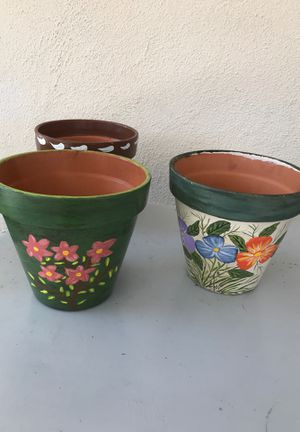 Flower pots for Sale in West Covina, CA