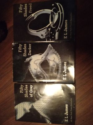 Fifty shades trilogy for Sale in Harrisonburg, VA