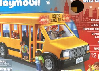 Brand New Playmobil School Bus Play Set for Sale in Santa Ana,  CA