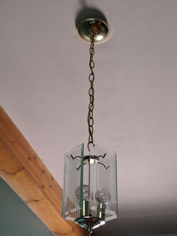 Small Glass Chandelier