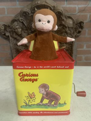 Curious George Jack In The Box for Sale in Scio, OH