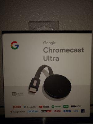Google ultra chromecast for Sale in Webster, TX