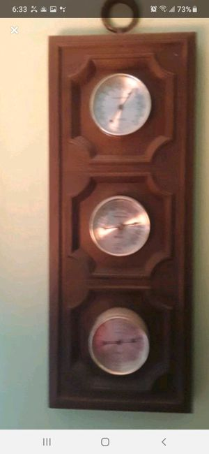 Antique 3 piece weather wall unit like new for Sale in Southbridge, MA