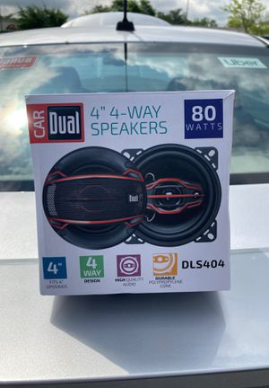 """4"""" 4-WAY SPEAKERS CAR DUAL for Sale in Burtonsville, MD"""