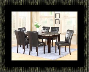 5pc dining table set with 4 chairs for Sale in Ashburn, VA