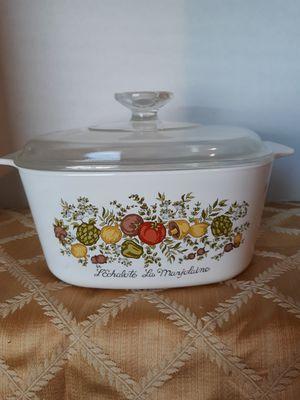 "Rare Retired Vintage Corning Ware ""Spice of Life"" L'Echalote Le Marjolaine A-3-B 3 Qt Casserole Dish w/Lid for Sale in Suffolk, VA"