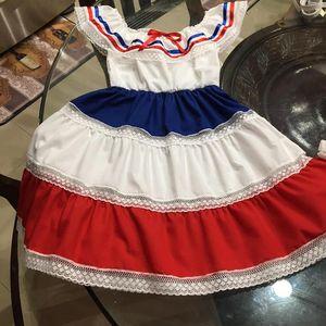 Hispanic Heritage dress/ Vestido de hispanidad for Sale in Hialeah, FL