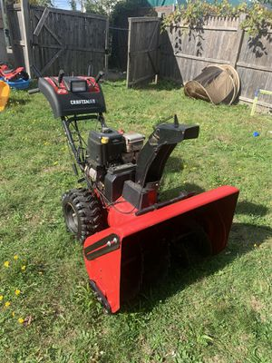 Craftsman snowblower for Sale in Fall River, MA