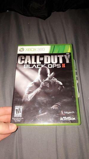 Xbox 360, call of duty black ops 2 for Sale in Nashville, TN