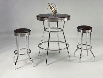 Retro 3-Piece Counter Height Bar Set for Sale in College Park,  MD