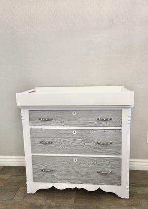 Custom Changing Table with Three Drawers for Sale in Sun City, AZ