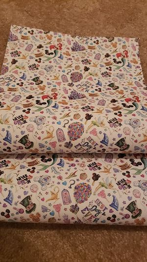 Disney Faux Leather Sheet set for Sale in Fontana, CA